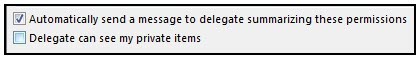 Delegation Button