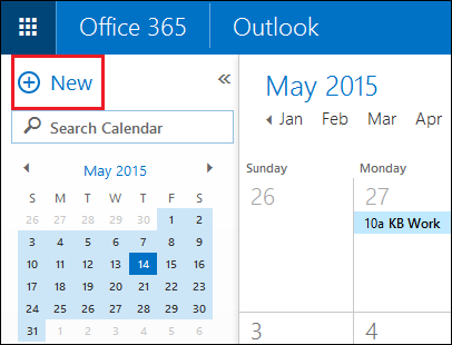 how to use outlook calendar invite
