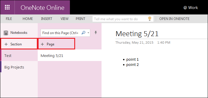 Office 365 (OneNote)