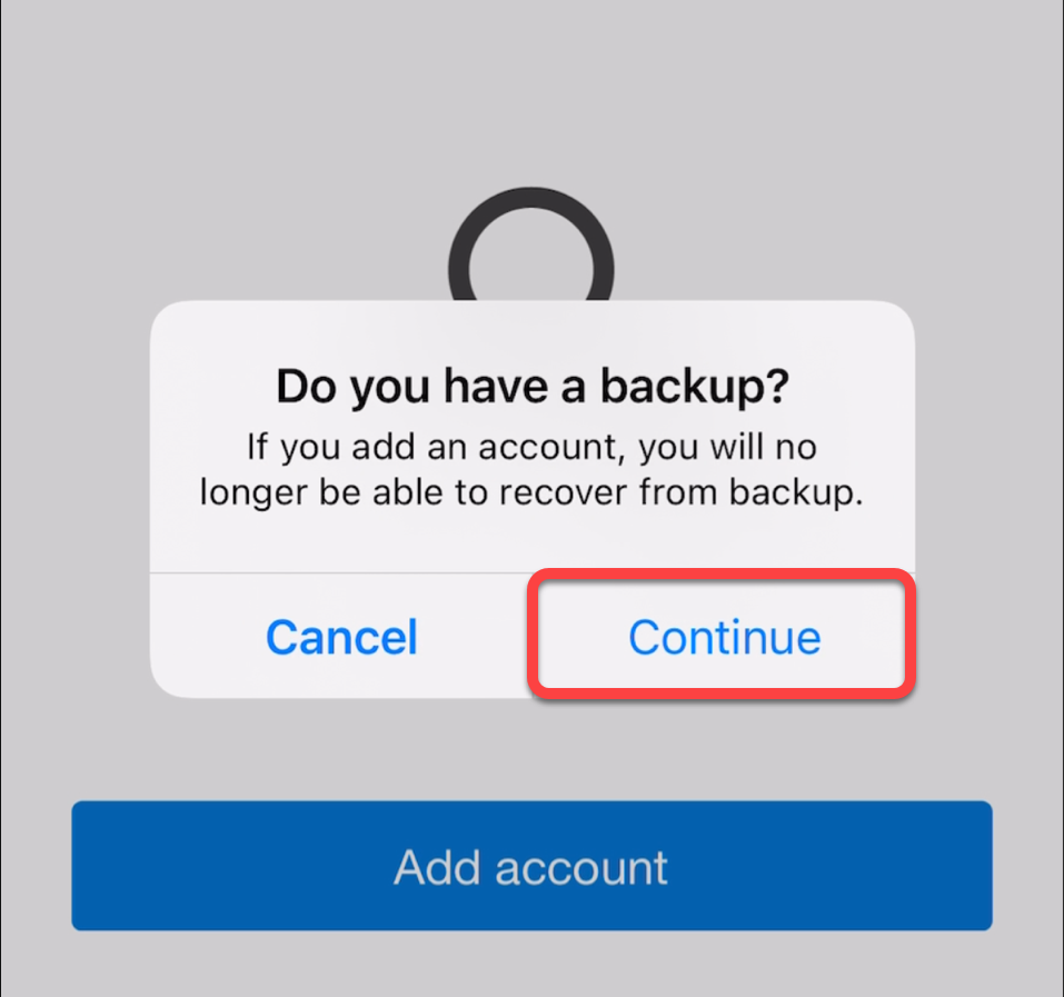 Do you have a backup prompt