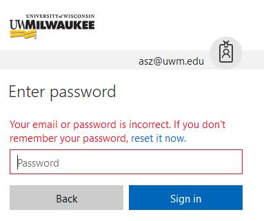 ePanther Account - Password Expiration
