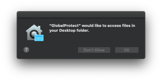 Allow Desktop Access