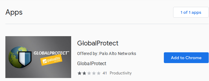 Add Global Protect