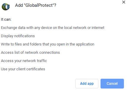 Global Protect Accept